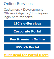 LIC Login Portal for New & Registered Users | LIC Customer ...